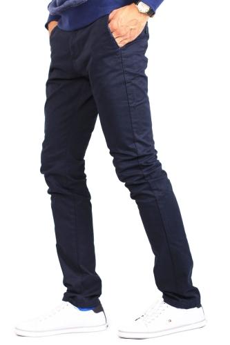 1e9e14c3f6144 Spodnie - Spodnie męskie chinosy granatowe Recea - Recea.pl sklep ...