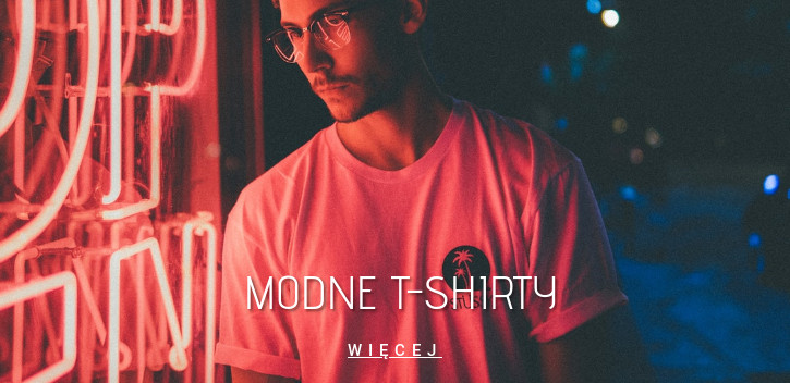 Modne t-shirty
